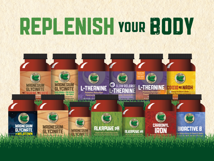 Replenish Your Body! 15% OFF SALE